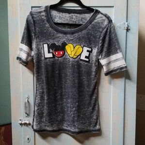 Mickey Mouse Love Tshirt